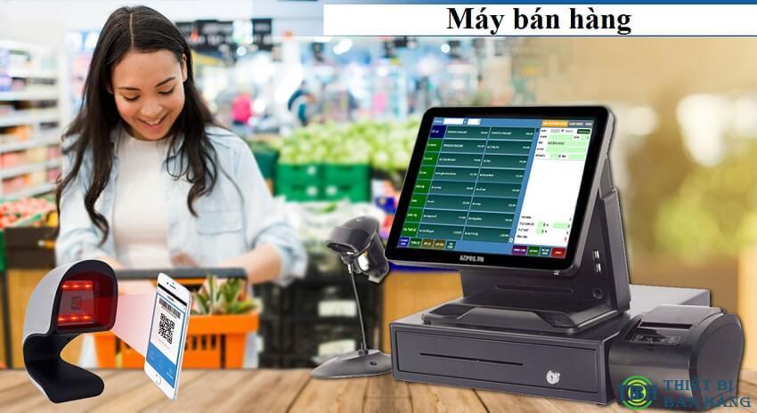 Máy bán hàng có khả năng kết nối ngoại vi với các thiết bị khác