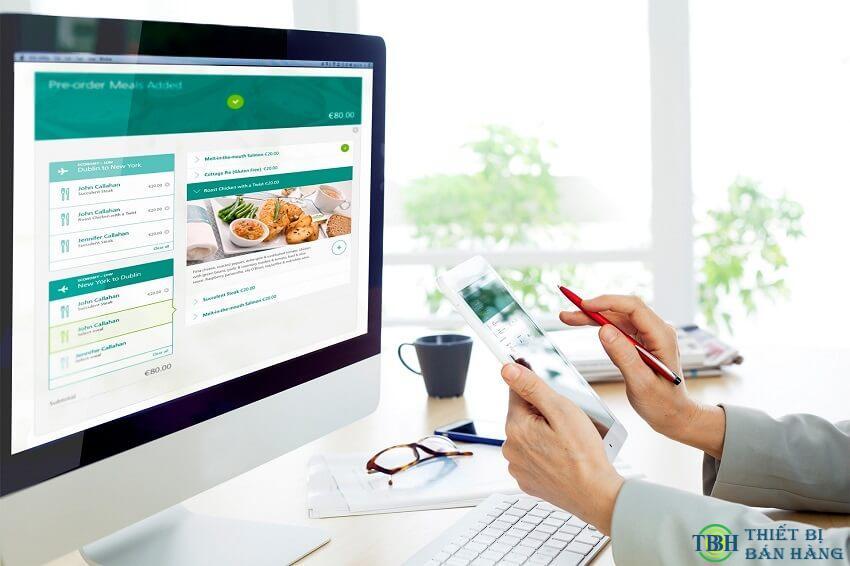 Máy bán hàng tự động sở hữu khả năng kết nối internet