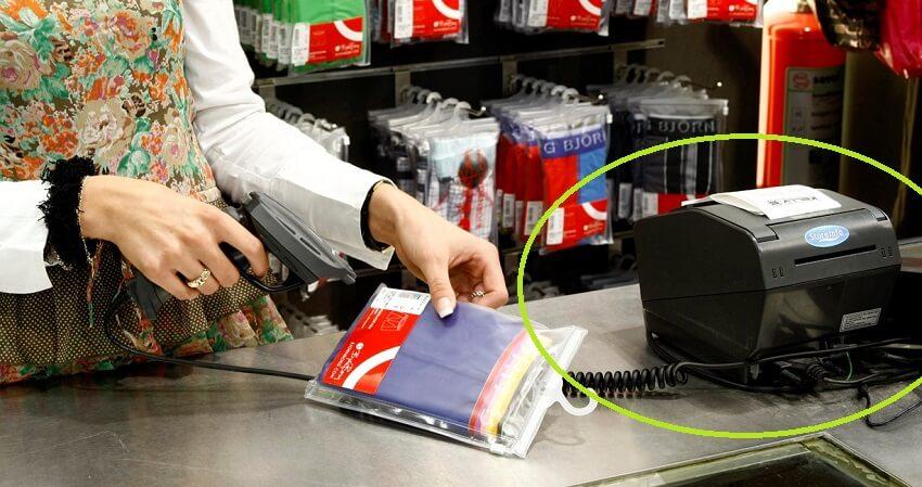 Ứng dụng máy in hàng hóa trong bán lẻ, kiểm soát hàng tồn kho